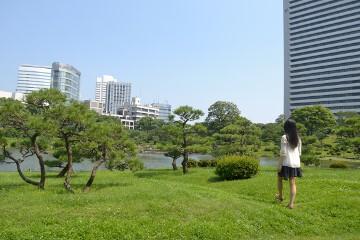 芝離宮庭園